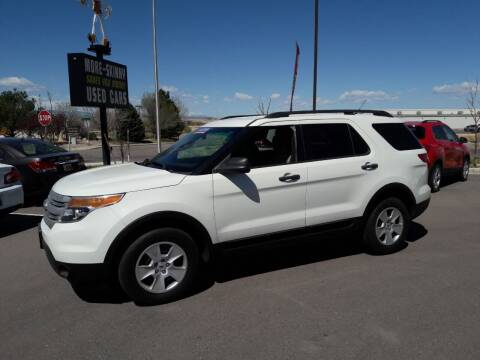 2013 Ford Explorer for sale at More-Skinny Used Cars in Pueblo CO