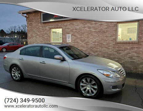 2011 Hyundai Genesis for sale at Xcelerator Auto LLC in Indiana PA