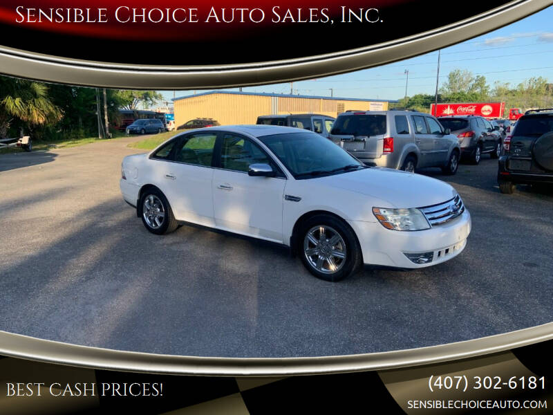 2008 Ford Taurus for sale at Sensible Choice Auto Sales, Inc. in Longwood FL