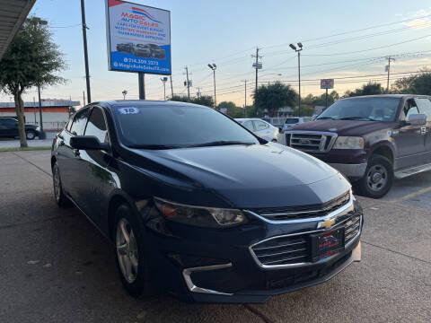 2018 Chevrolet Malibu for sale at Magic Auto Sales in Dallas TX