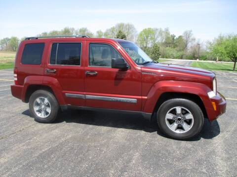 2008 Jeep Liberty for sale at Crossroads Used Cars Inc. in Tremont IL