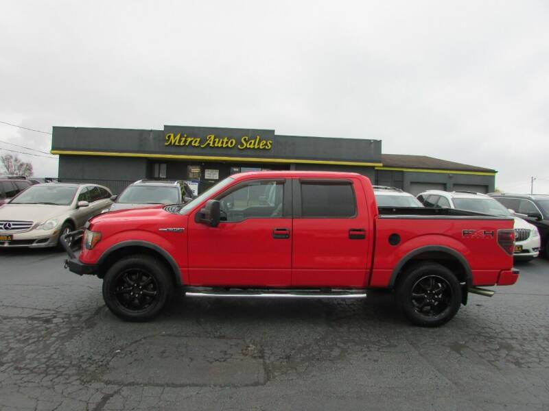2011 Ford F-150 for sale at MIRA AUTO SALES in Cincinnati OH