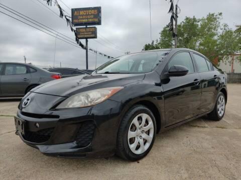 2012 Mazda MAZDA3 for sale at AI MOTORS LLC in Killeen TX