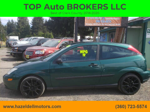 2001 Ford Focus for sale at TOP Auto BROKERS LLC in Vancouver WA