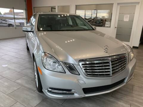 2013 Mercedes-Benz E-Class for sale at Evolution Autos in Whiteland IN