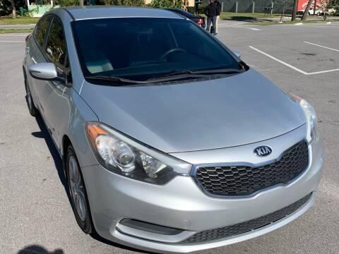 2014 Kia Forte for sale at Consumer Auto Credit in Tampa FL