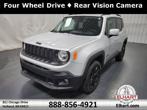 2018 Jeep Renegade for sale at Elhart Automotive Campus in Holland MI