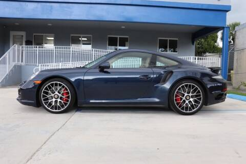 2015 Porsche 911 for sale at PERFORMANCE AUTO WHOLESALERS in Miami FL
