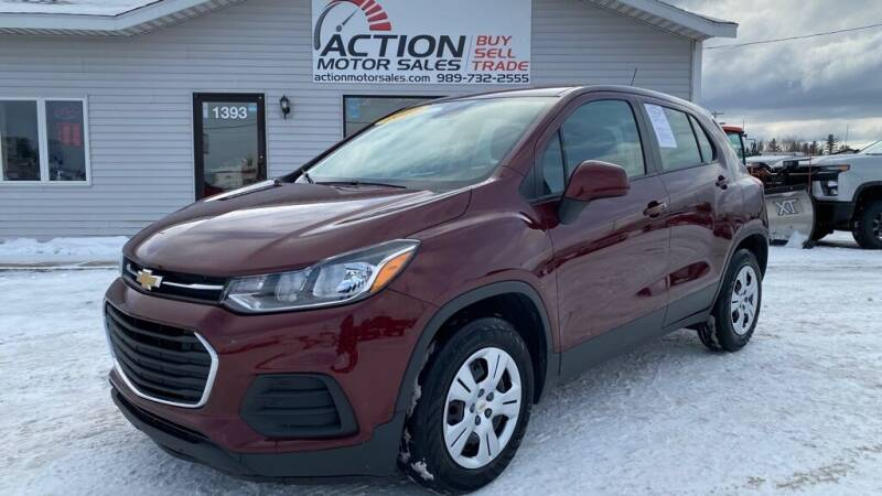 2017 Chevrolet Trax for sale at Action Motor Sales in Gaylord MI
