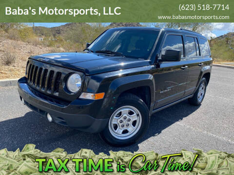 2016 Jeep Patriot for sale at Baba's Motorsports, LLC in Phoenix AZ