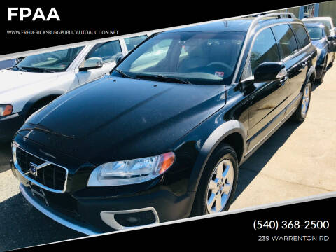 2008 Volvo XC70 for sale at FPAA in Fredericksburg VA