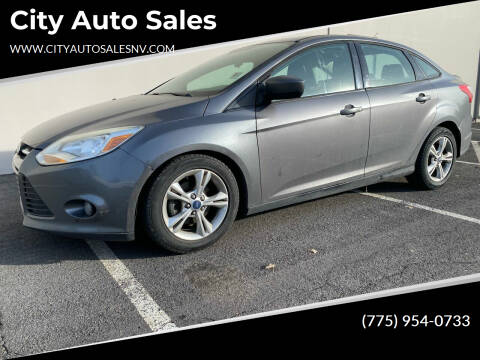 2012 Ford Focus for sale at City Auto Sales in Sparks NV