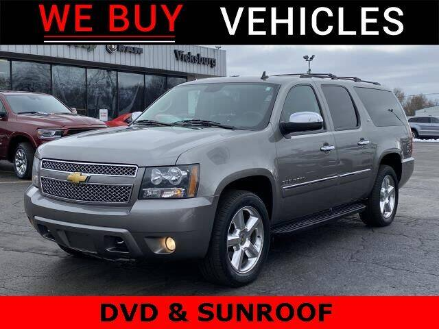 2012 Chevrolet Suburban for sale at Vicksburg Chrysler Dodge Jeep Ram in Vicksburg MI