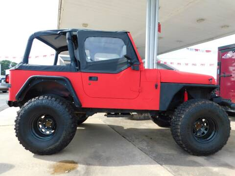 1994 Jeep Wrangler for sale at Motorsports Unlimited in McAlester OK