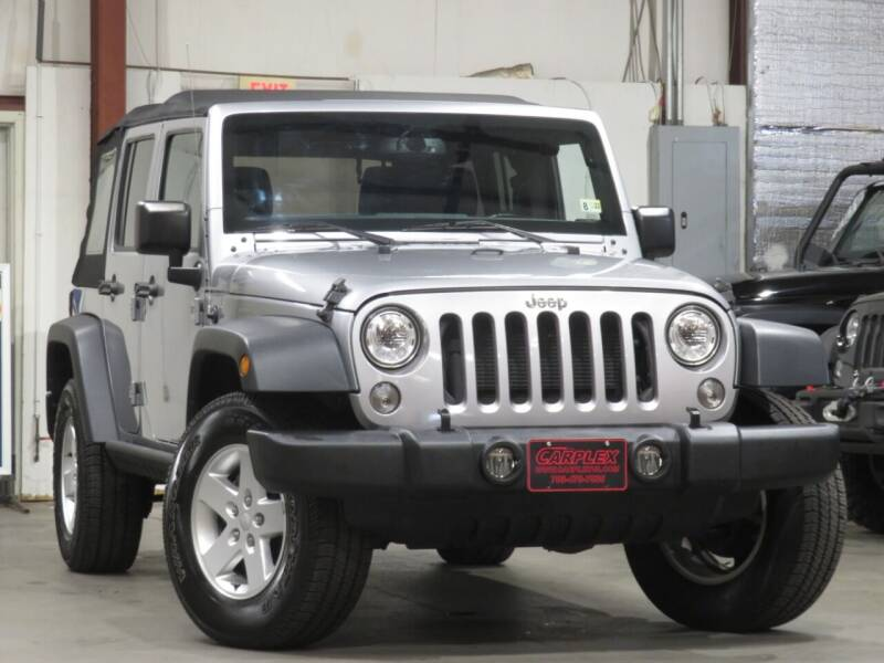 2018 Jeep Wrangler JK Unlimited for sale at CarPlex in Manassas VA