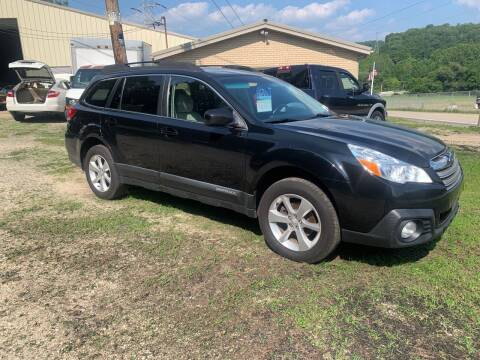 2013 Subaru Outback for sale at Martin Auto Sales in West Alexander PA