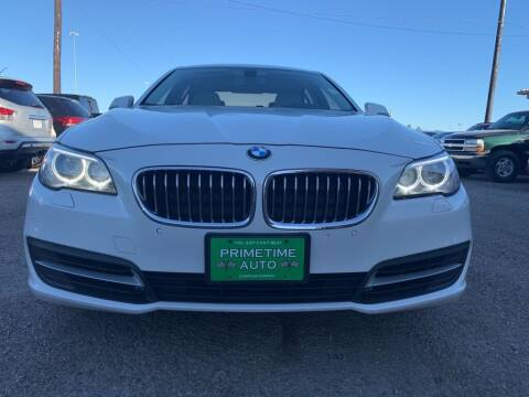 2014 BMW 5 Series for sale at Primetime Auto in Corpus Christi TX