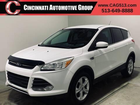 2013 Ford Escape for sale at Cincinnati Automotive Group in Lebanon OH