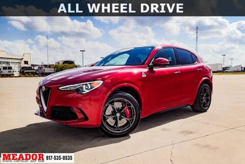 2019 Alfa Romeo Stelvio Quadrifoglio for sale at Meador Dodge Chrysler Jeep RAM in Fort Worth TX