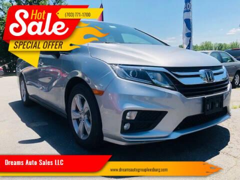 2019 Honda Odyssey for sale at Dreams Auto Sales LLC in Leesburg VA