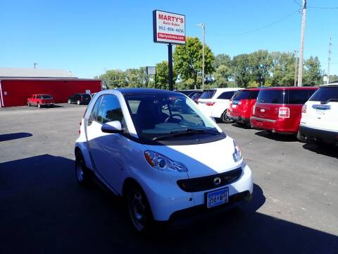 2013 Smart fortwo for sale at Marty's Auto Sales in Savage MN