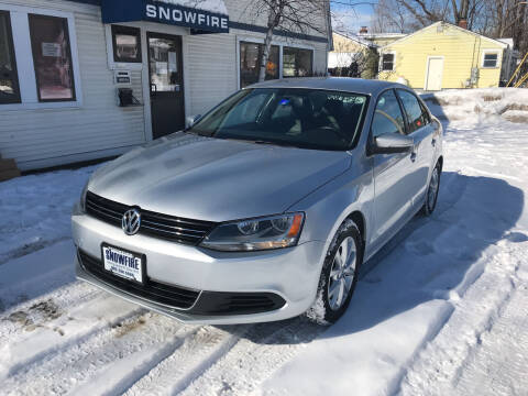 2013 Volkswagen Jetta for sale at Snowfire Auto in Waterbury VT