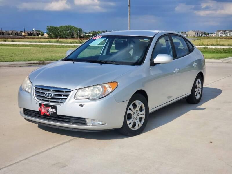 2010 Hyundai Elantra for sale at Chihuahua Auto Sales in Perryton TX