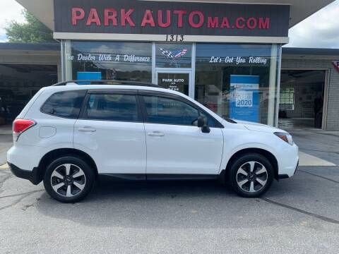 2018 Subaru Forester for sale at Park Auto LLC in Palmer MA