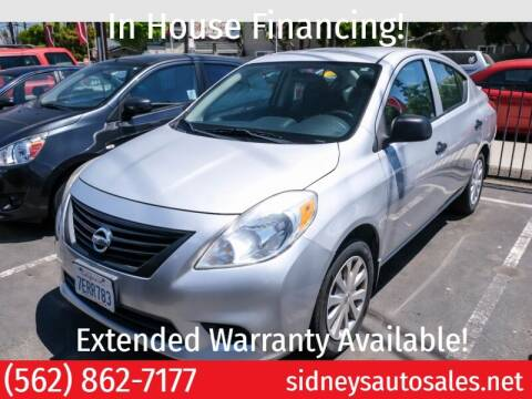 2014 Nissan Versa for sale at Sidney Auto Sales in Downey CA