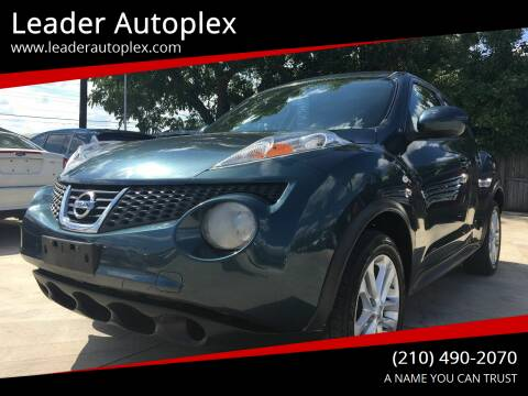 2013 Nissan JUKE for sale at Leader Autoplex in San Antonio TX
