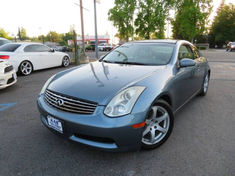2006 Infiniti G35 for sale at KAS Auto Sales in Sacramento CA