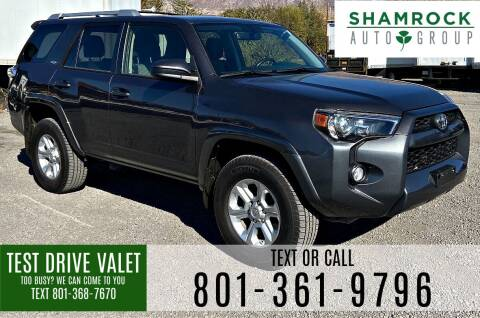 2018 Toyota 4Runner for sale at Shamrock Group LLC #1 in Pleasant Grove UT
