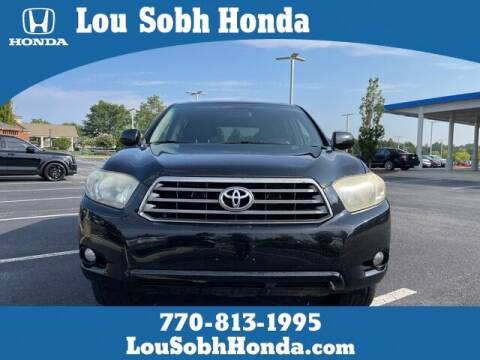 2008 Toyota Highlander for sale at Southern Auto Solutions - Lou Sobh Honda in Marietta GA