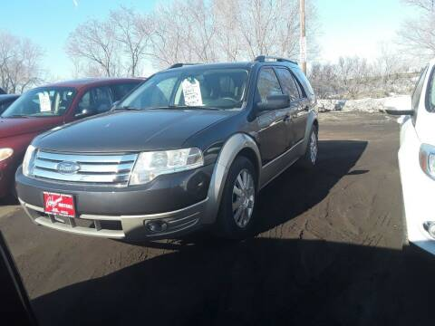 2008 Ford Taurus X for sale at BARNES AUTO SALES in Mandan ND