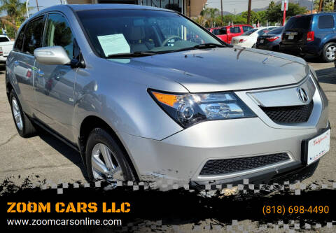 2011 Acura MDX for sale at ZOOM CARS LLC in Sylmar CA