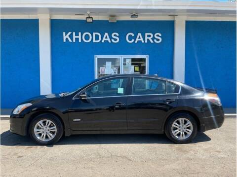 2011 Nissan Altima Hybrid for sale at Khodas Cars in Gilroy CA