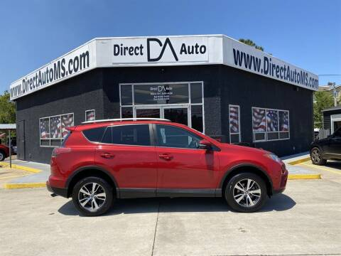 2016 Toyota RAV4 for sale at Direct Auto in D'Iberville MS