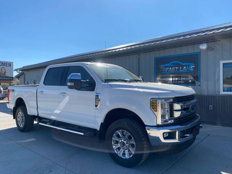2019 Ford F-250 Super Duty for sale at FAST LANE AUTOS in Spearfish SD