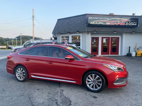 2017 Hyundai Sonata for sale at Maple Street Auto Center in Marlborough MA