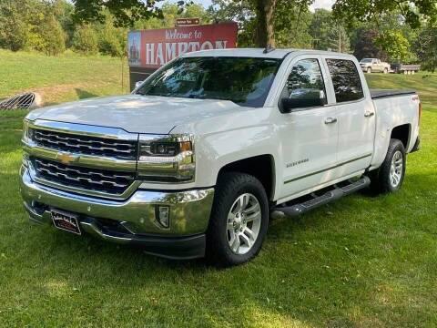 2018 Chevrolet Silverado 1500 for sale at BROTHERS AUTO SALES in Hampton IA