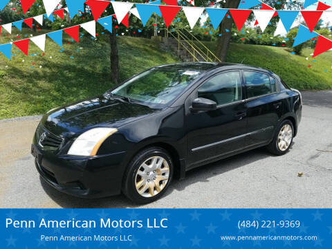 2010 Nissan Sentra for sale at Penn American Motors LLC in Allentown PA