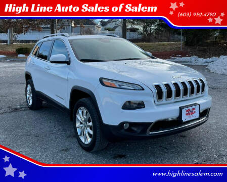 2014 Jeep Cherokee for sale at High Line Auto Sales of Salem in Salem NH