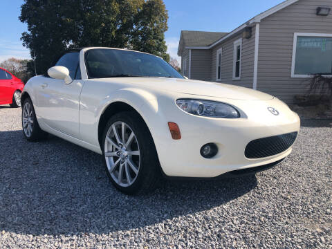 2006 Mazda MX-5 Miata for sale at Curtis Wright Motors in Maryville TN