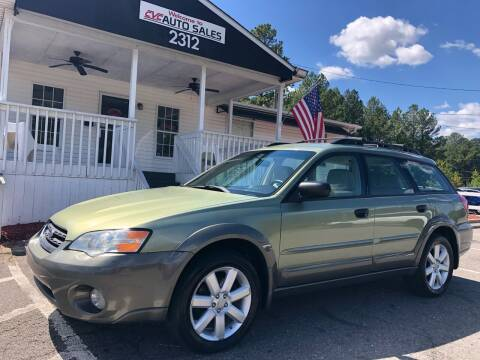 2007 Subaru Outback for sale at CVC AUTO SALES in Durham NC
