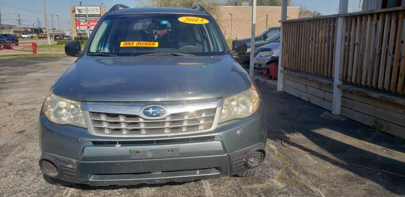 2013 Subaru Forester for sale at Anthony's Auto Sales of Texas, LLC in La Porte TX