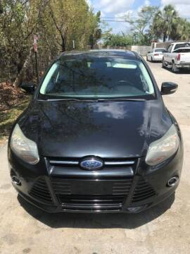 2012 Ford Focus for sale at Zak Motor Group in Deerfield Beach FL