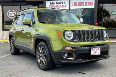 2016 Jeep Renegade for sale at Michaels Auto Plaza in East Greenbush NY
