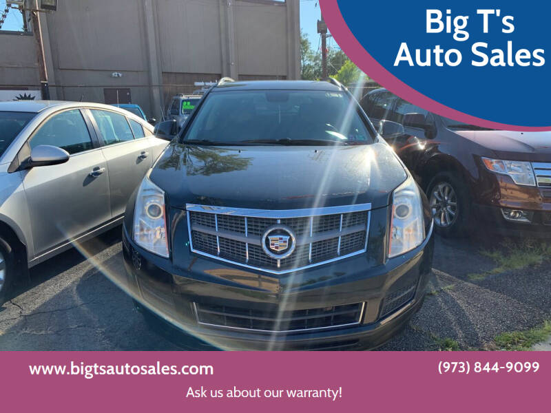 2011 Cadillac SRX for sale at Big T's Auto Sales in Belleville NJ