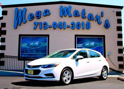 2017 Chevrolet Cruze for sale at MEGA MOTORS in South Houston TX