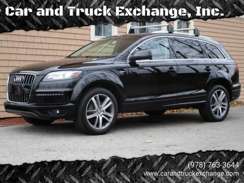 2014 Audi Q7 for sale at Car and Truck Exchange, Inc. in Rowley MA